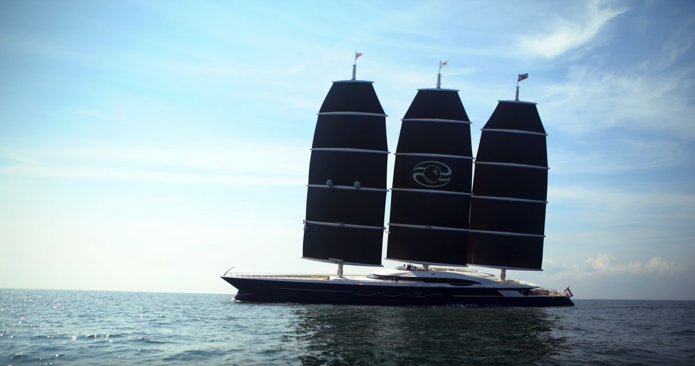 The Full Story Behind The World S Largest Sailing Yacht Yacht Harbour