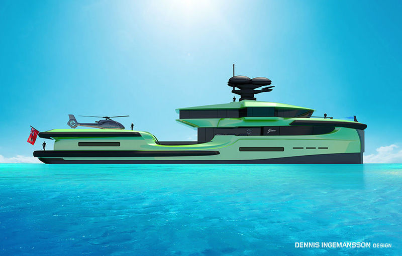 65-metre Green Expedition yacht project - Yacht Harbour