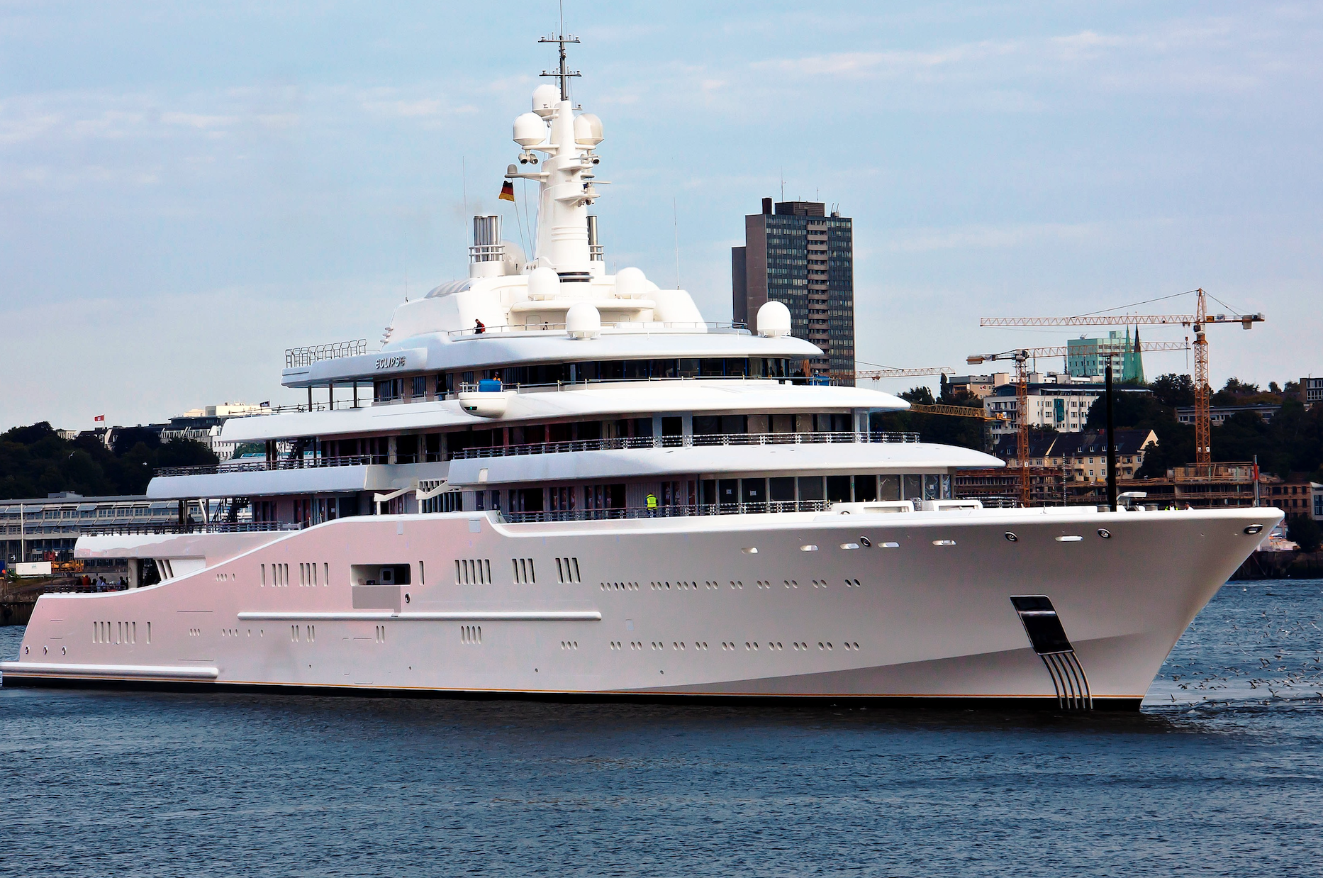 Top Megayachts Owned By Billionaires And With Models Aboard At
