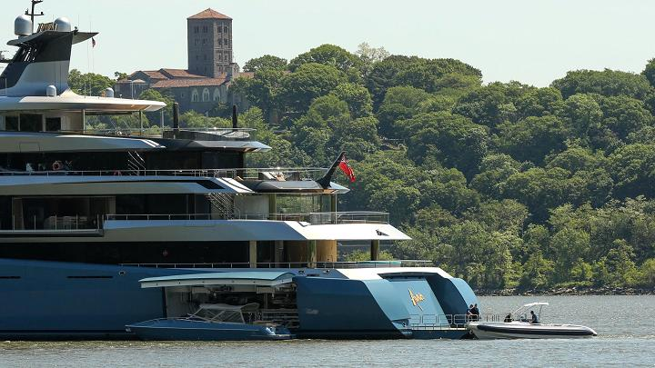 $150 million 98-metre British billionaire's megayacht with the