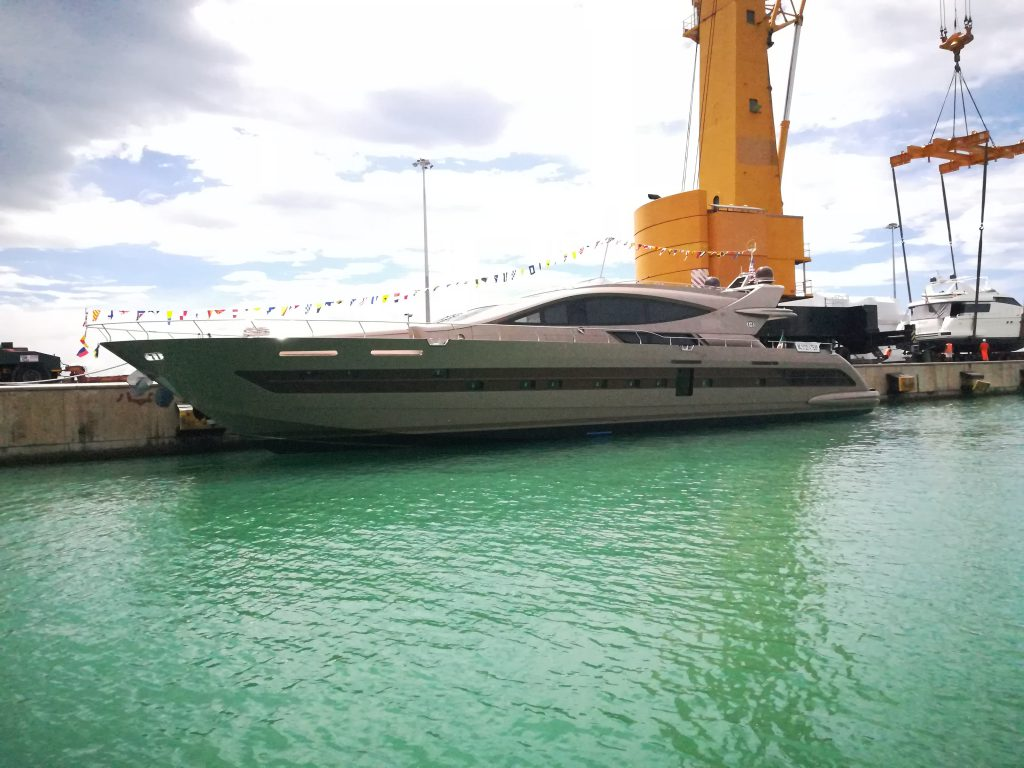 31-metre superyacht Francesca launched by CCN for an
