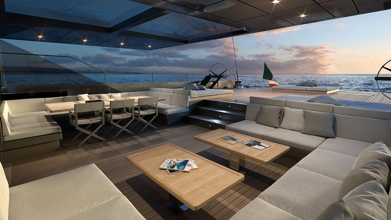 42 Metre Sailing Yacht E Volution Sold By Perini Navi Yacht Harbour
