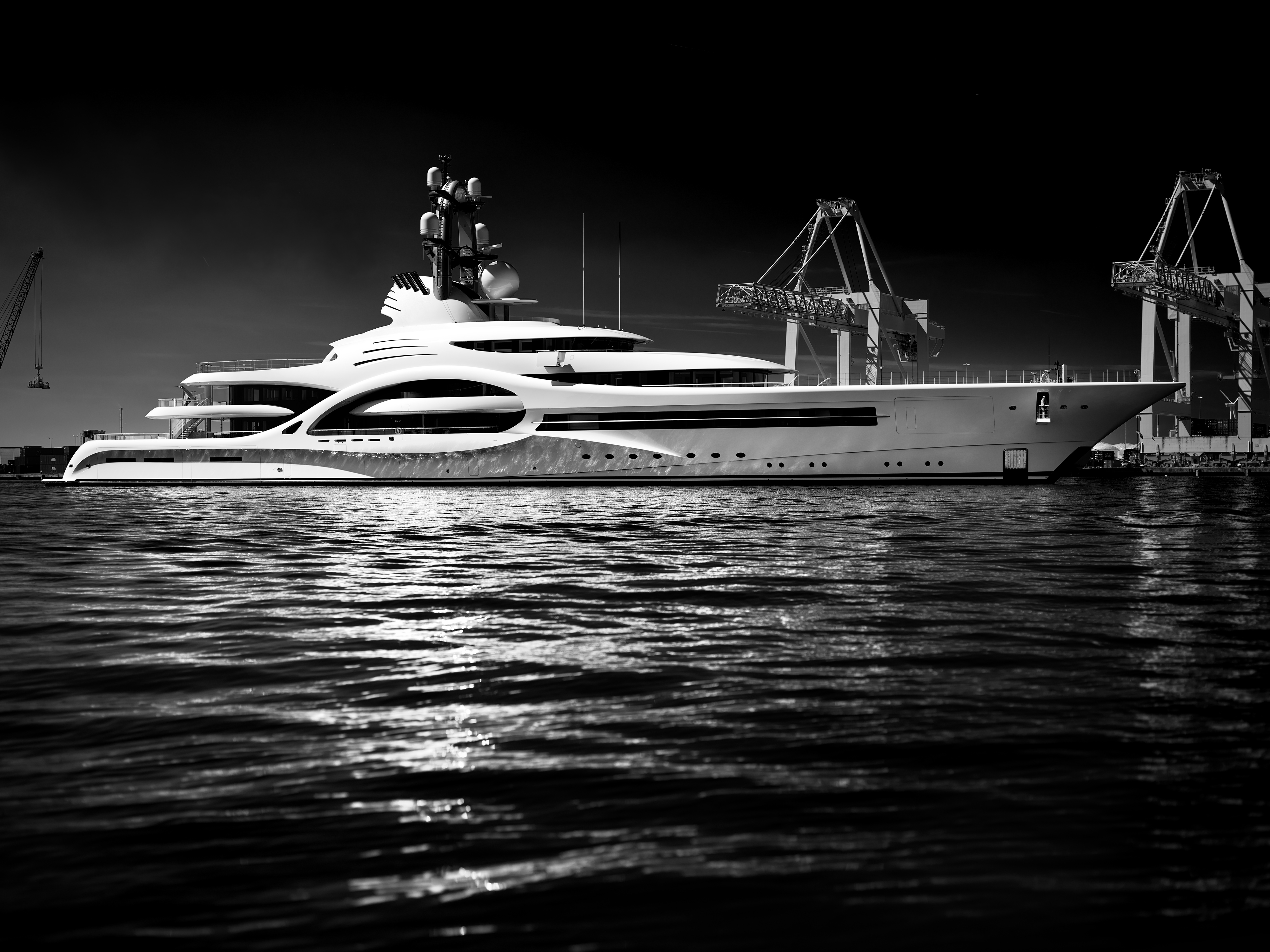 Exclusive 110 Metre Superyacht Anna By Feadship Yacht Harbour