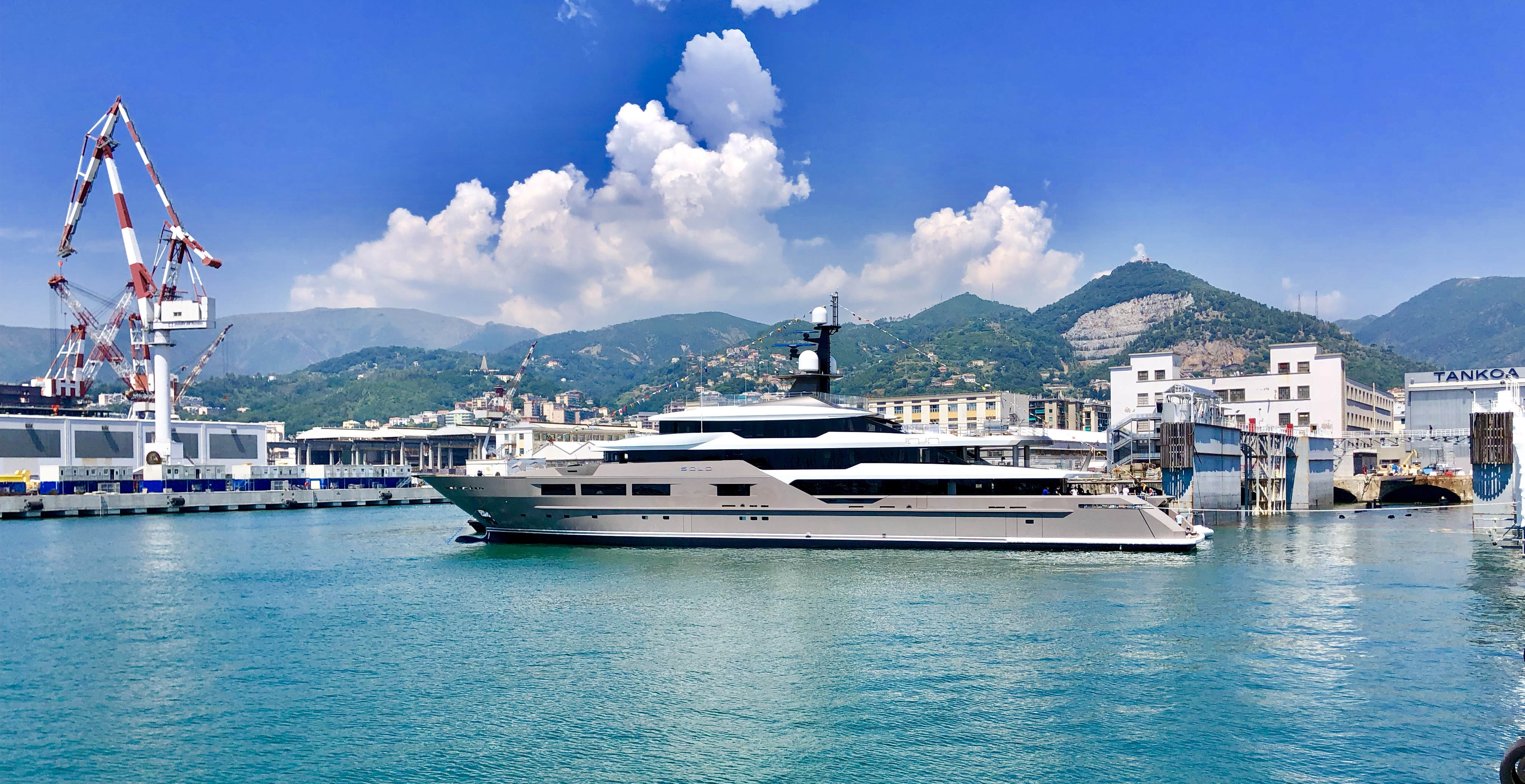 72 Metre S701 Solo Launched By Tankoa Yachts Yacht Harbour