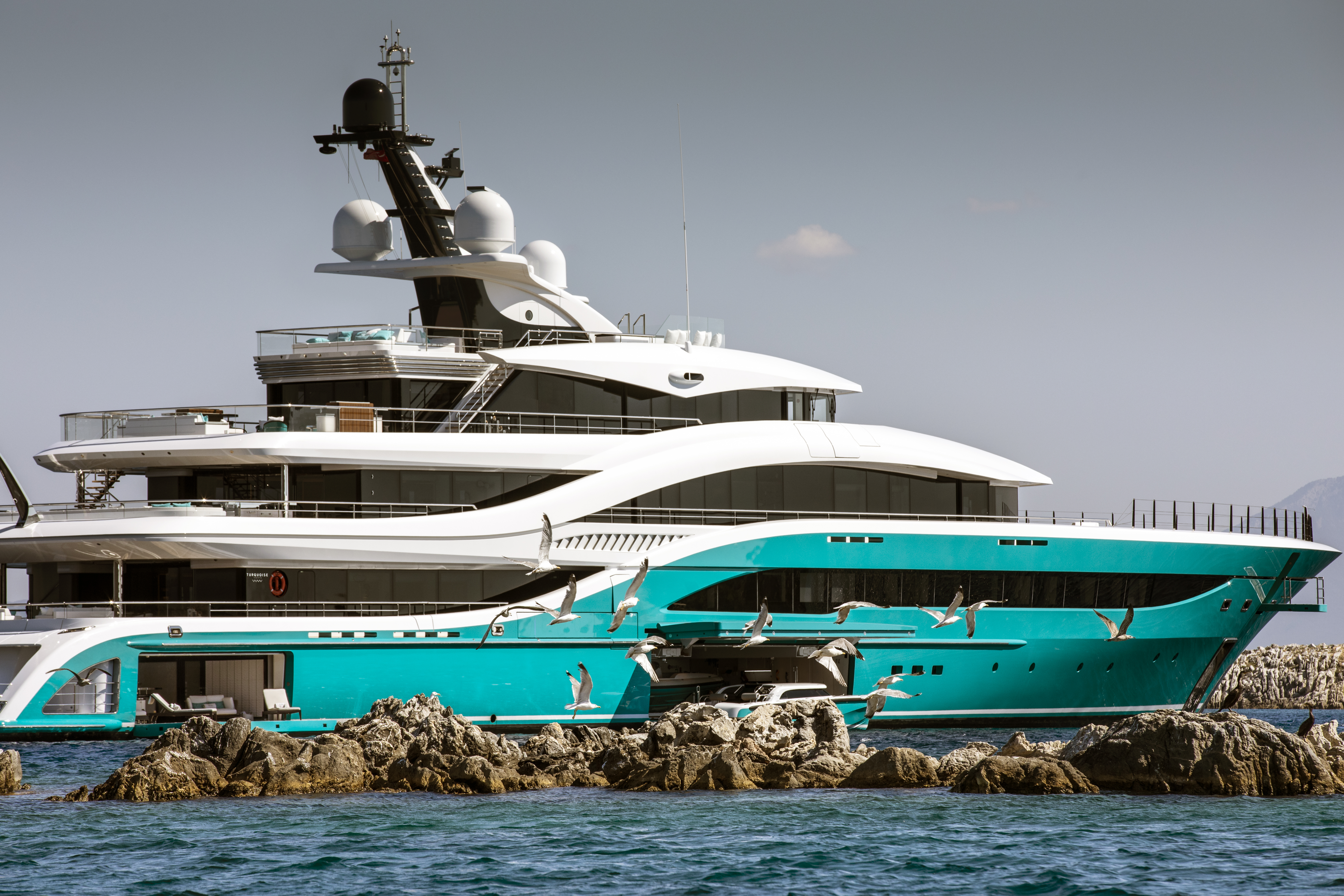 77 Metre Superyacht Go By Turquoise Debuts At Monaco Yacht Show 2018