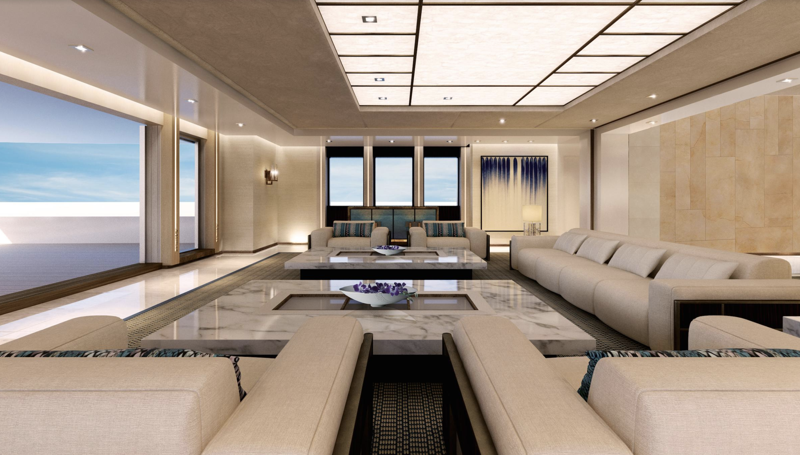 88.5m Illusion Plus sails to Monaco For Y.CO's MYS 2018 ...