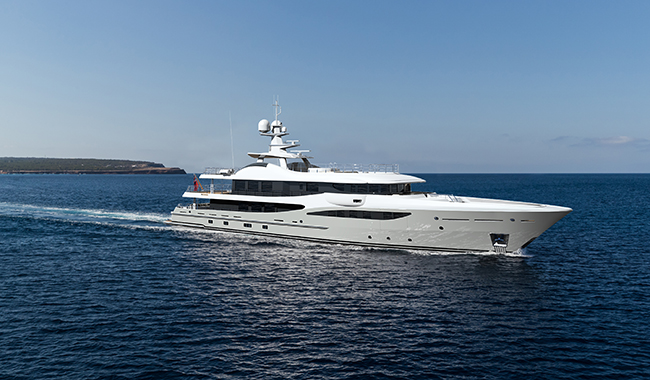 New 55 Metre Amels 180 Sold With Spring 2019 Delivery Yacht Harbour