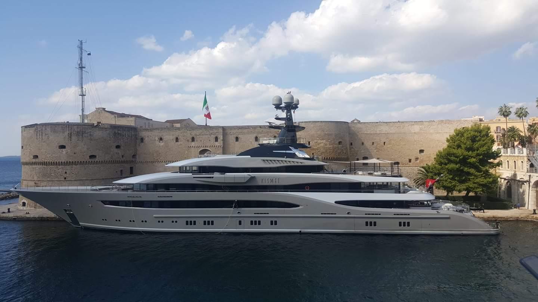 95-meter superyacht Kismet in $150 million movie - Yacht Harbour