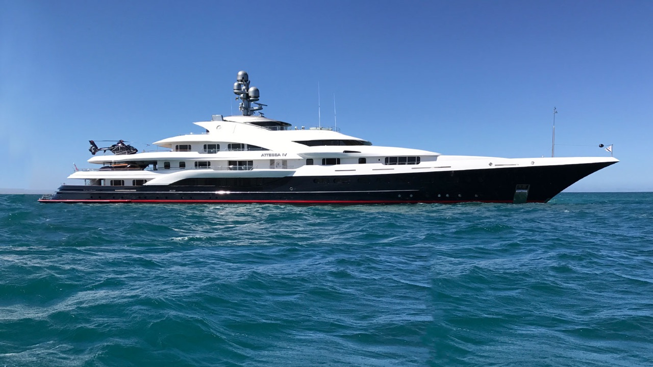 Megayacht Attessa Iv Collided With Fisher Boat Causing Death Yacht