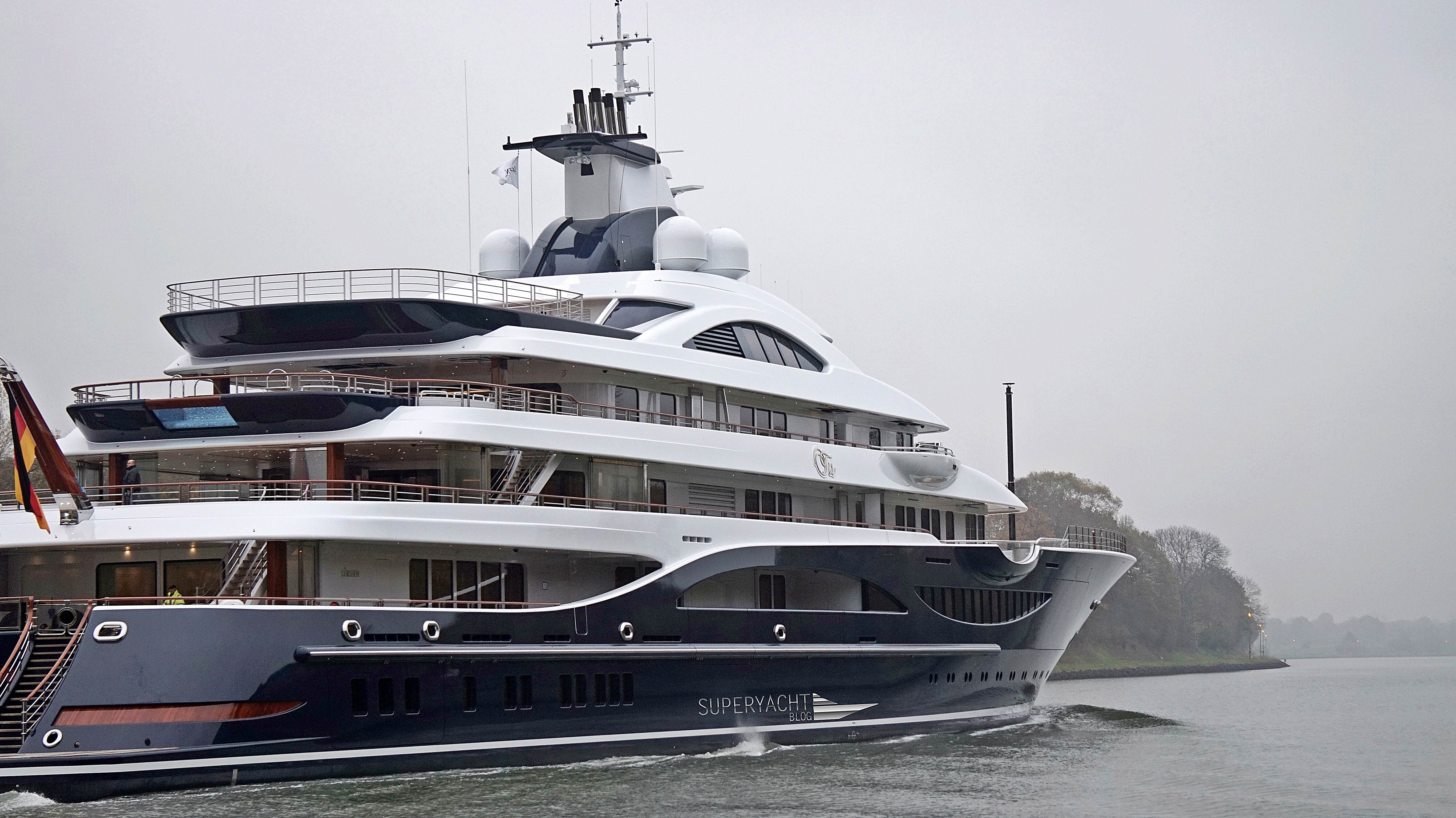 111 Metre Project Tis By Lurssen Heading To The Baltic Sea