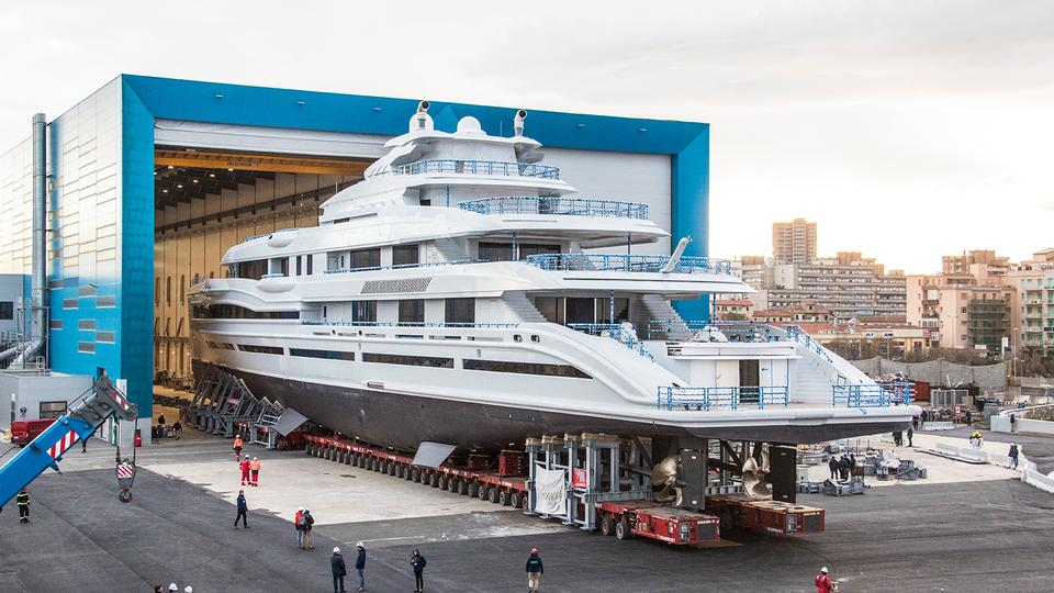 Benetti To Launch 107 Meter Superyacht For Serial Yacht Owner