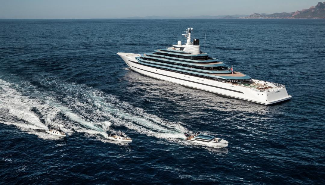 The 11 largest yachts sold in 2018 - Yacht Harbour