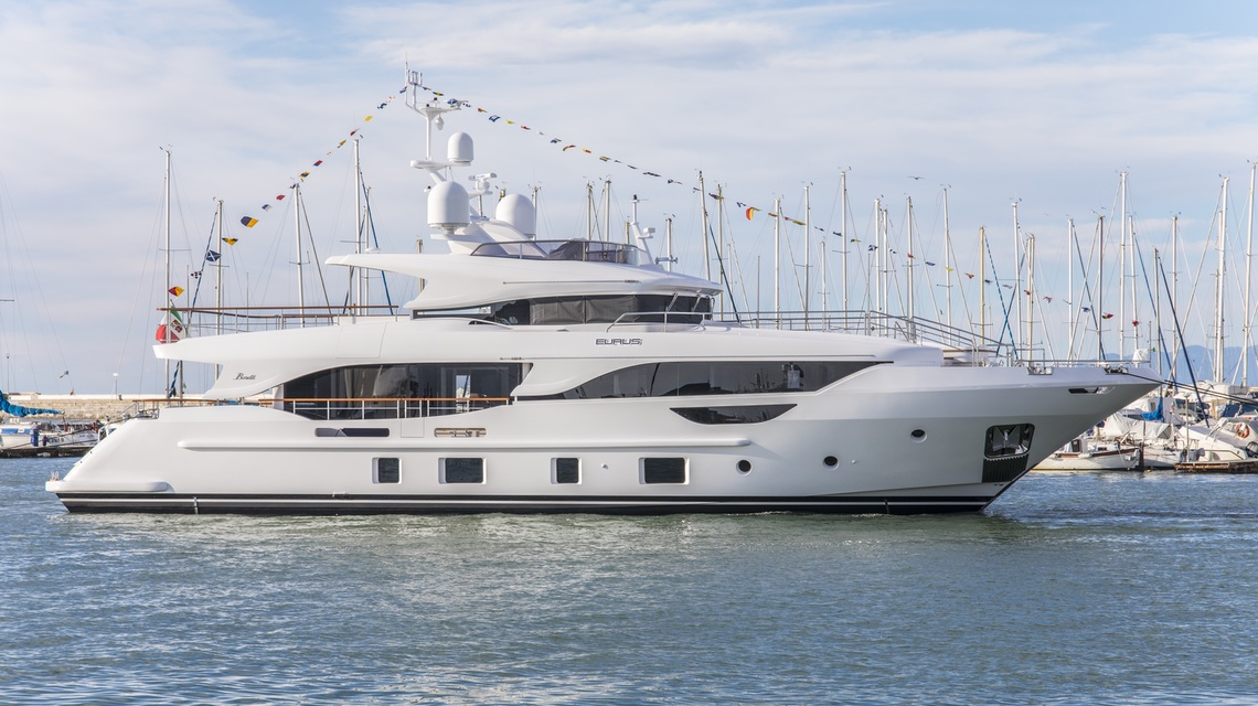 Benetti launched 29-meter superyacht Eurus