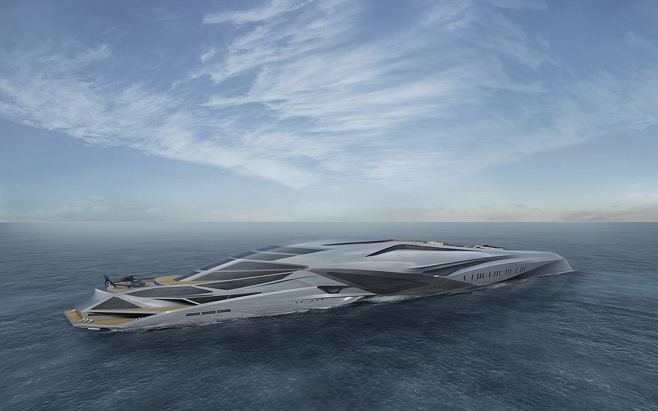 229 Meter Superyacht Project Valkyrie The Largest Private Vessel