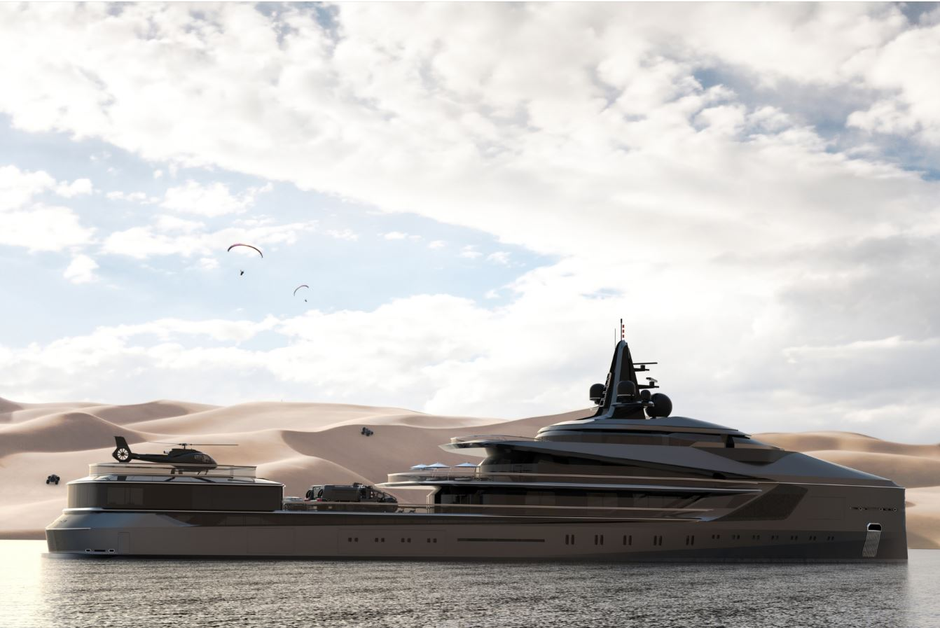 4 of the most extravagant yacht concepts released in 2019