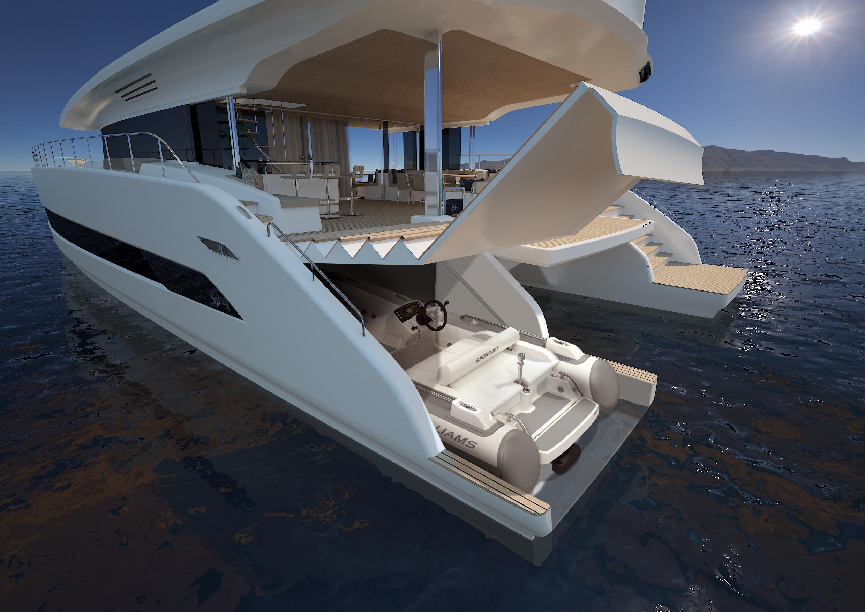 4 Silent 80 Solar Engine Catamarans Under Construction