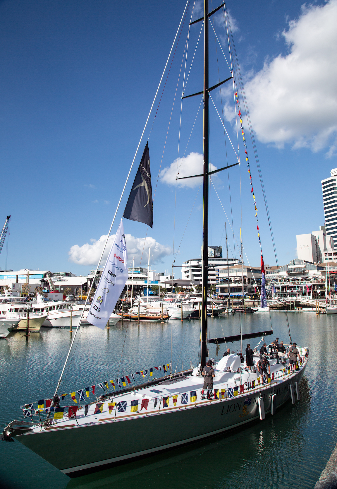 Yachting Developments relaunches 24m Lion New Zeland after