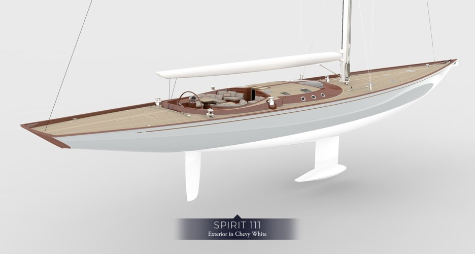Eco yachting redefined: brand new electric sailing yacht by Spirit