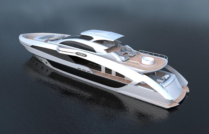 Details about in-build Phoenix 130 superyacht - Yacht Harbour