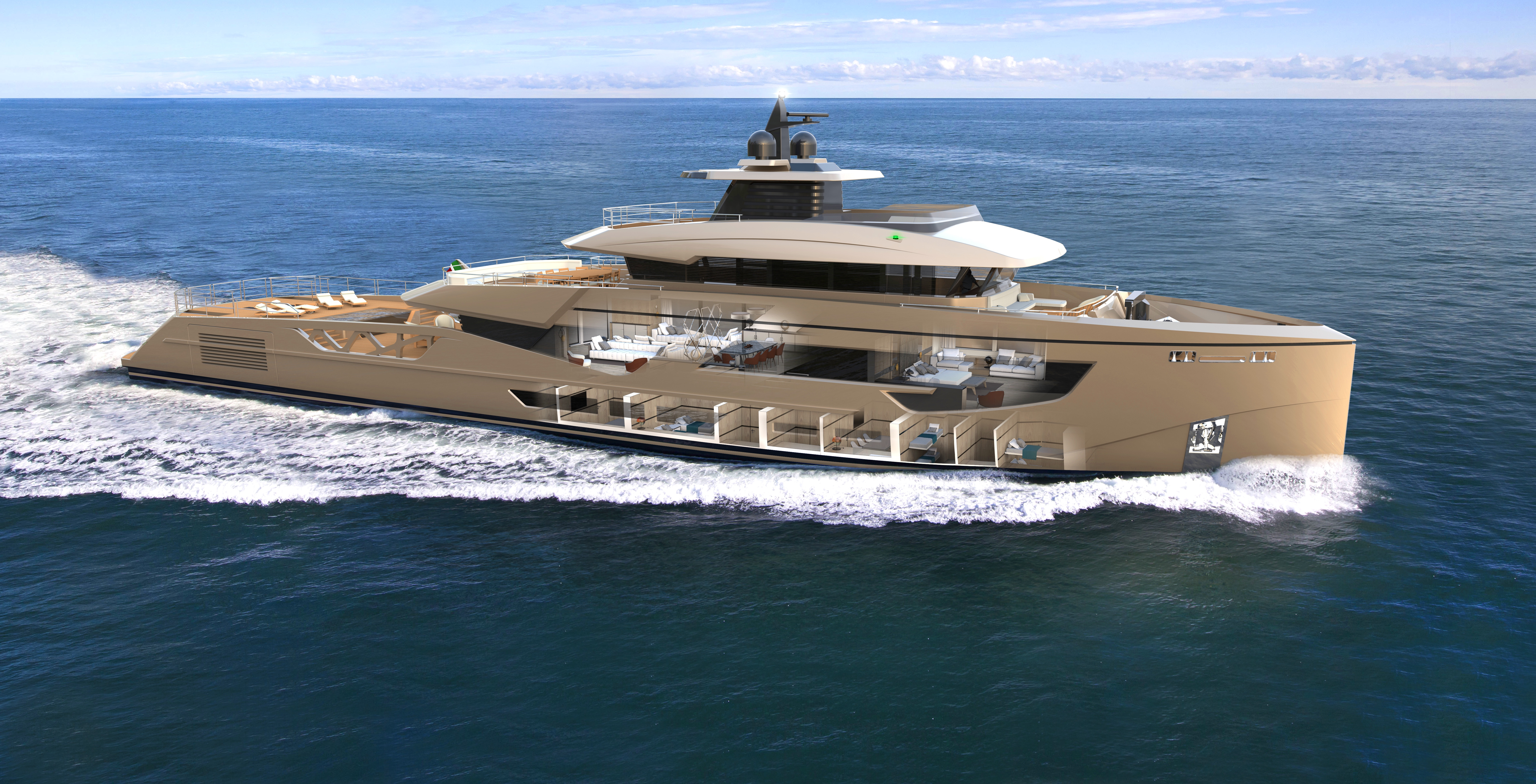 New details about Rosetti 52m Supply Vessel Yacht - Yacht Harbour