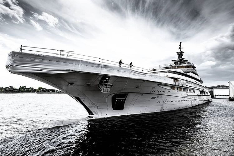 142m Lurssen Superyacht Redwood Approaching Her Delivery Date