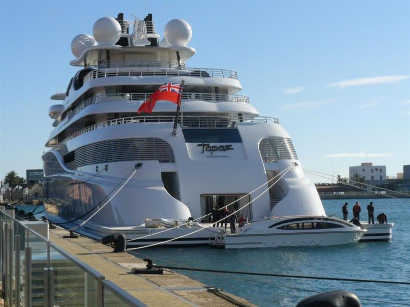 147m Lurssen Superyacht Topaz Renamed A Does It Imply Changing