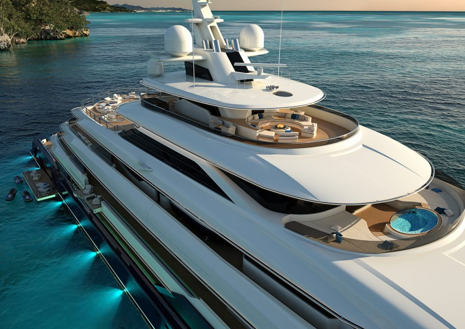 120m Superyacht Project Introduced By Columbus Yachts Yacht Harbour