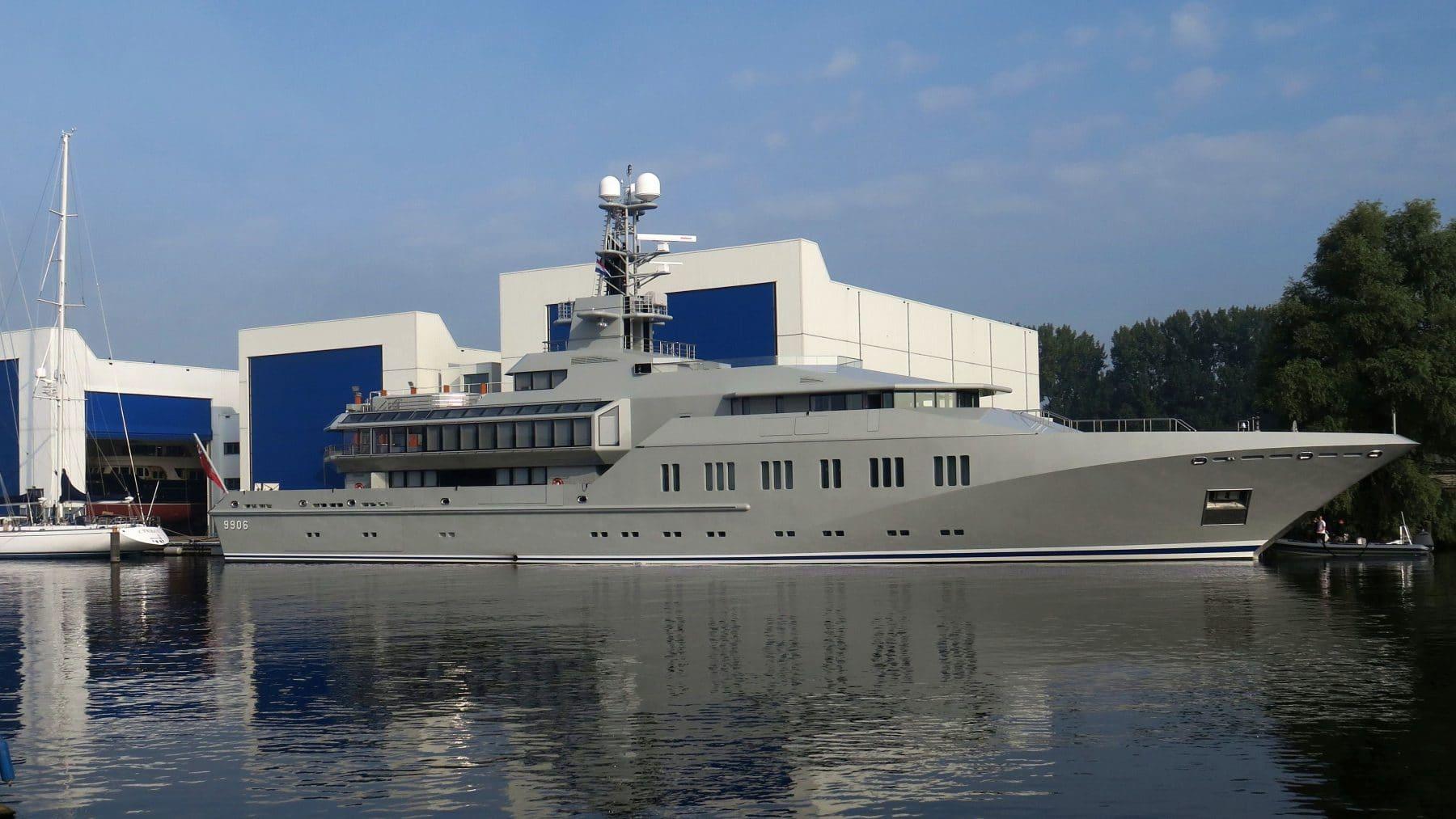 Royal Huisman to exploit former Holland Jachtbouw shipyard