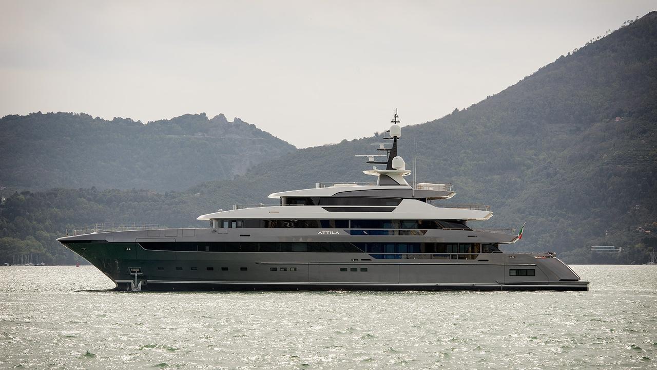 Sanlorenzo Launches 64m Flagship Superyacht Attila Yacht Harbour