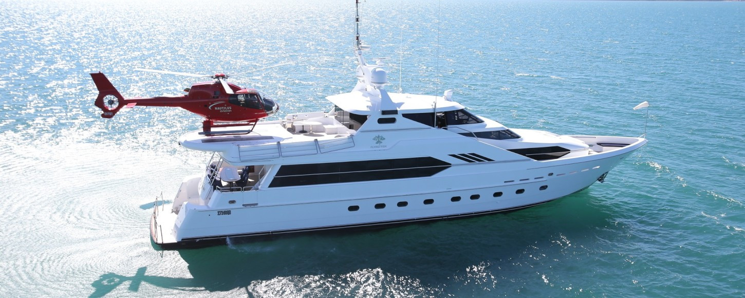 What you need to know about superyacht helipads - Yacht Harbour