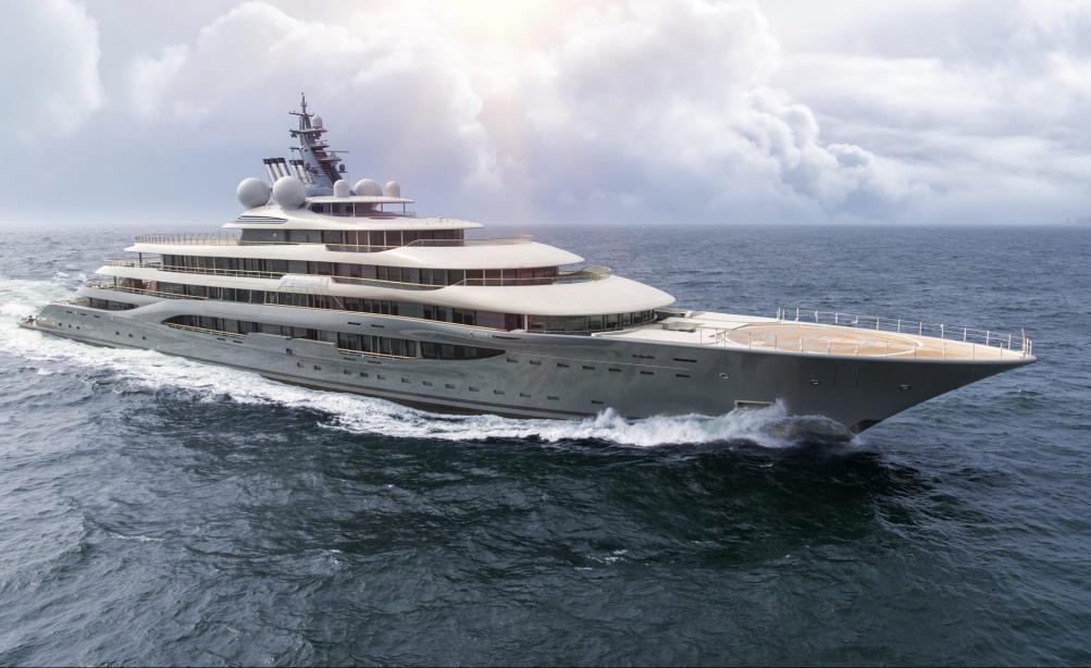 Giga League: recalling the 10 largest Lürssen yachts - Yacht