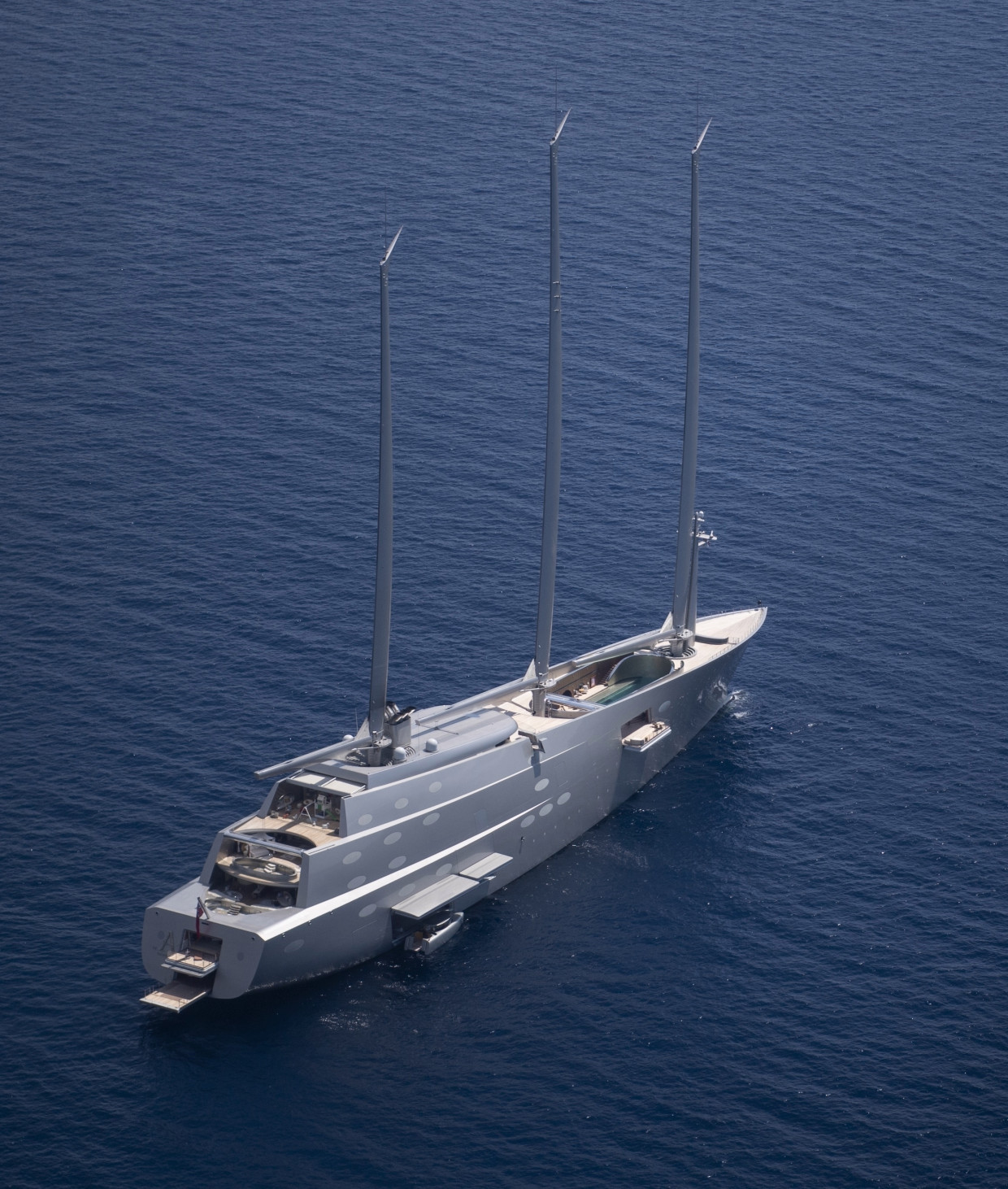 Sailing Yacht A >> Russian Billionaire S 143m Sailing Yacht A Spotted In Monaco