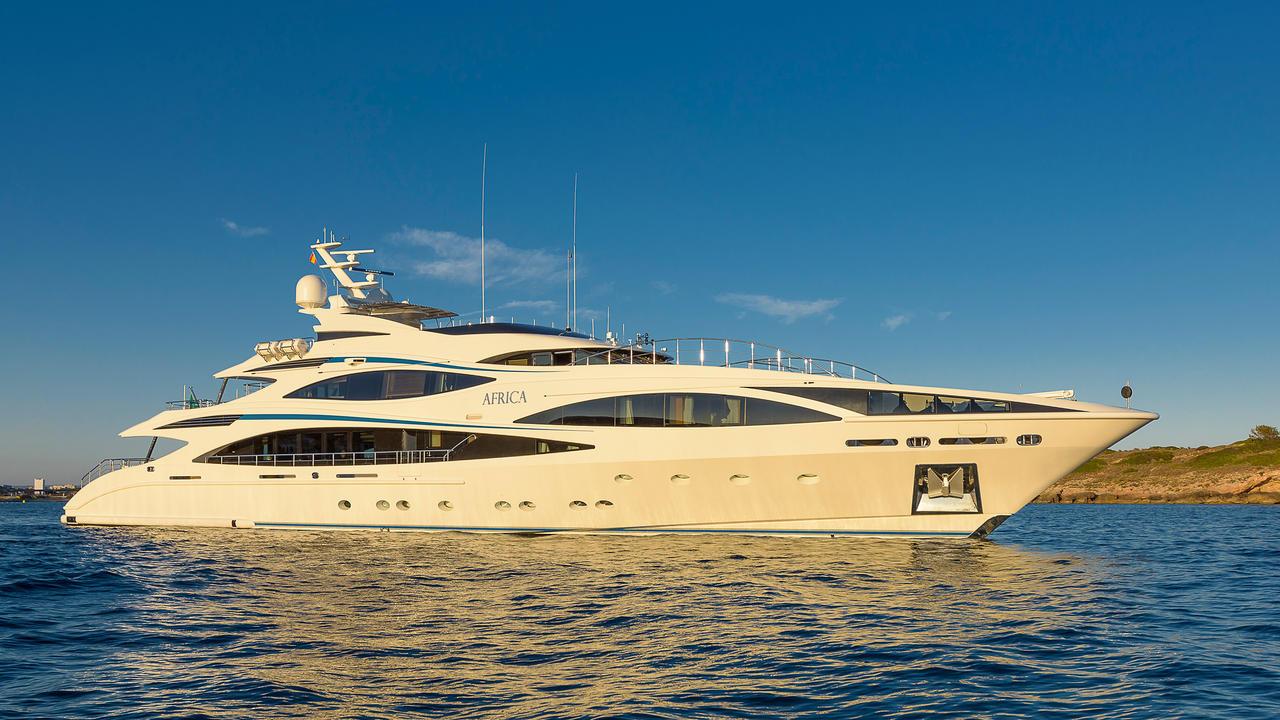 Ronaldo Yacht