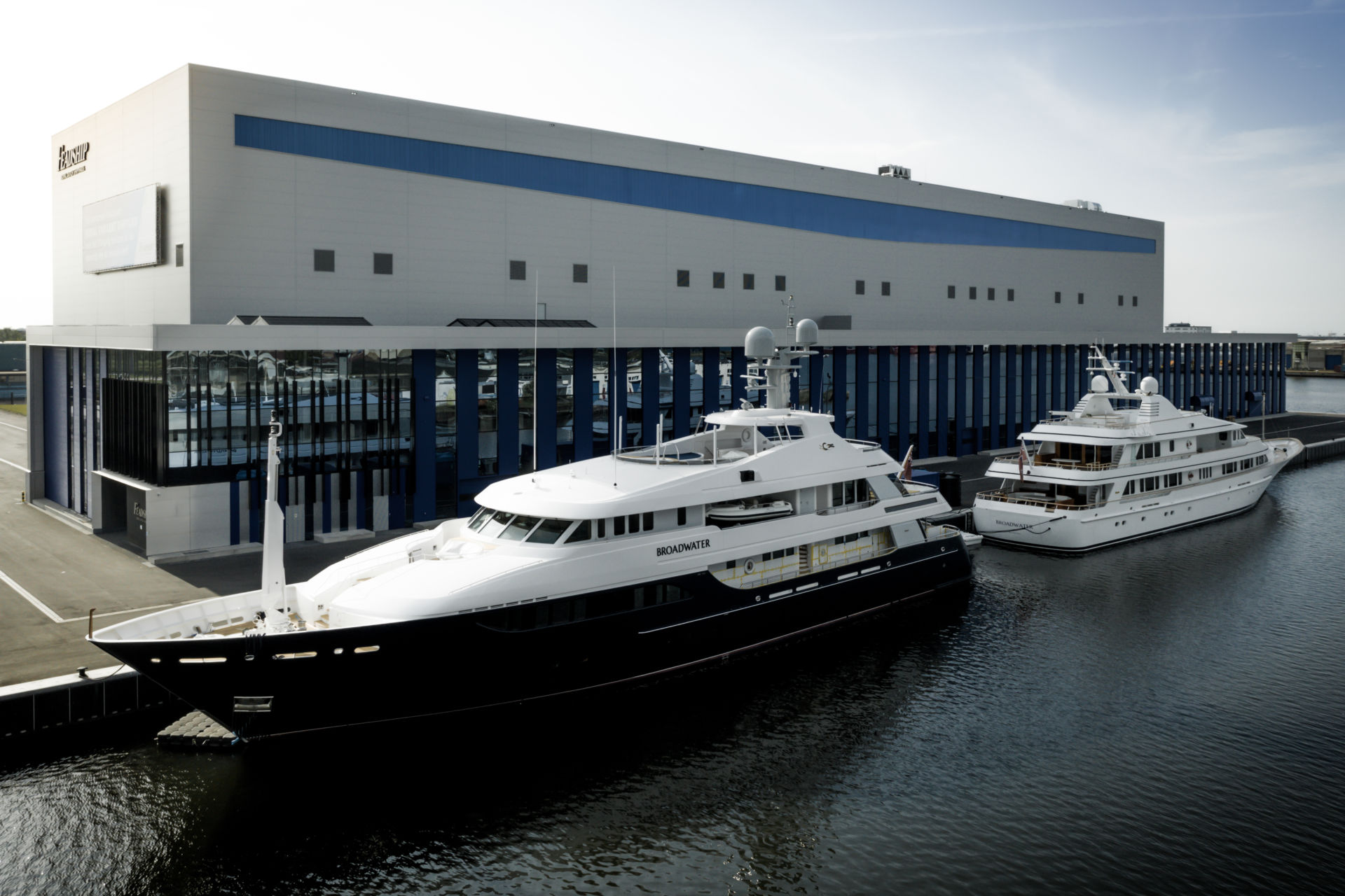 Huisfit to undertake major conversion on 52m Feadship