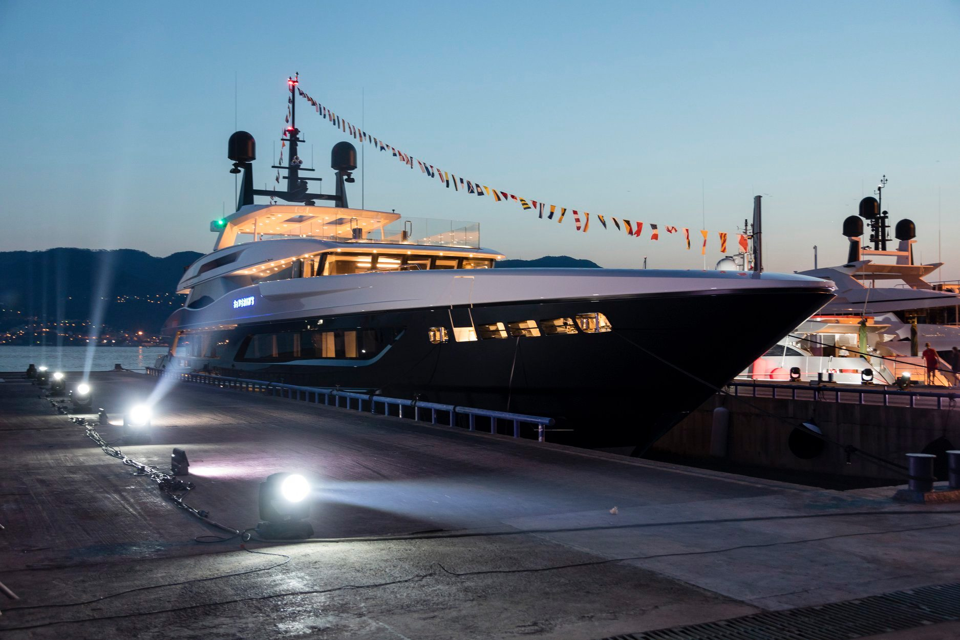 Baglietto Launches Its Largest Superyacht Severin S Yacht Harbour