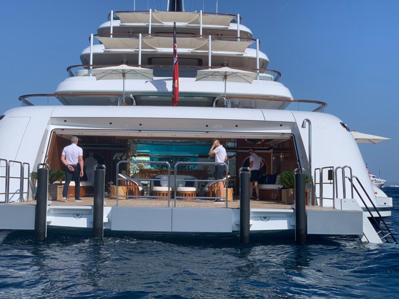 Canadian billionaire's 96m superyacht Faith spotted in Sardinia - Yacht  Harbour