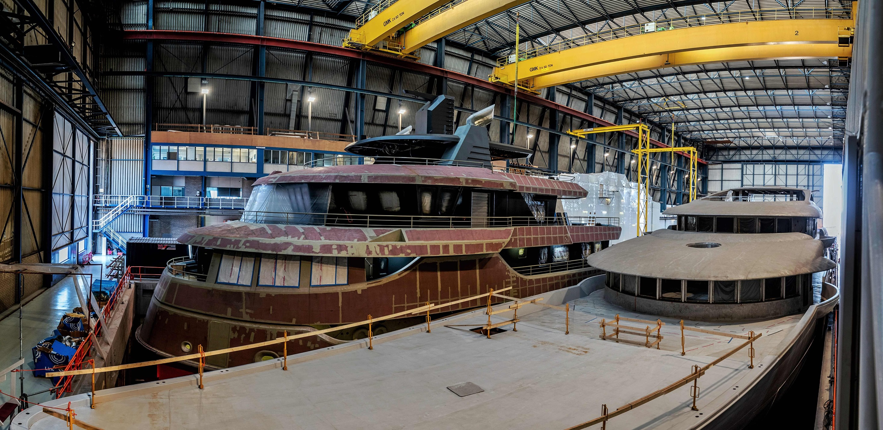 68m conversion Project Ragnar nearing completion at Icon