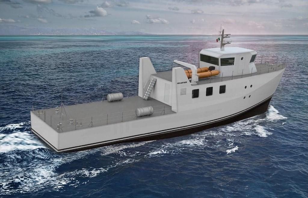 Fincantieri a lancé la construction de Zeus - un navire expérimental zéro émission combinant des atomes d'hydrogène et d'oxygène