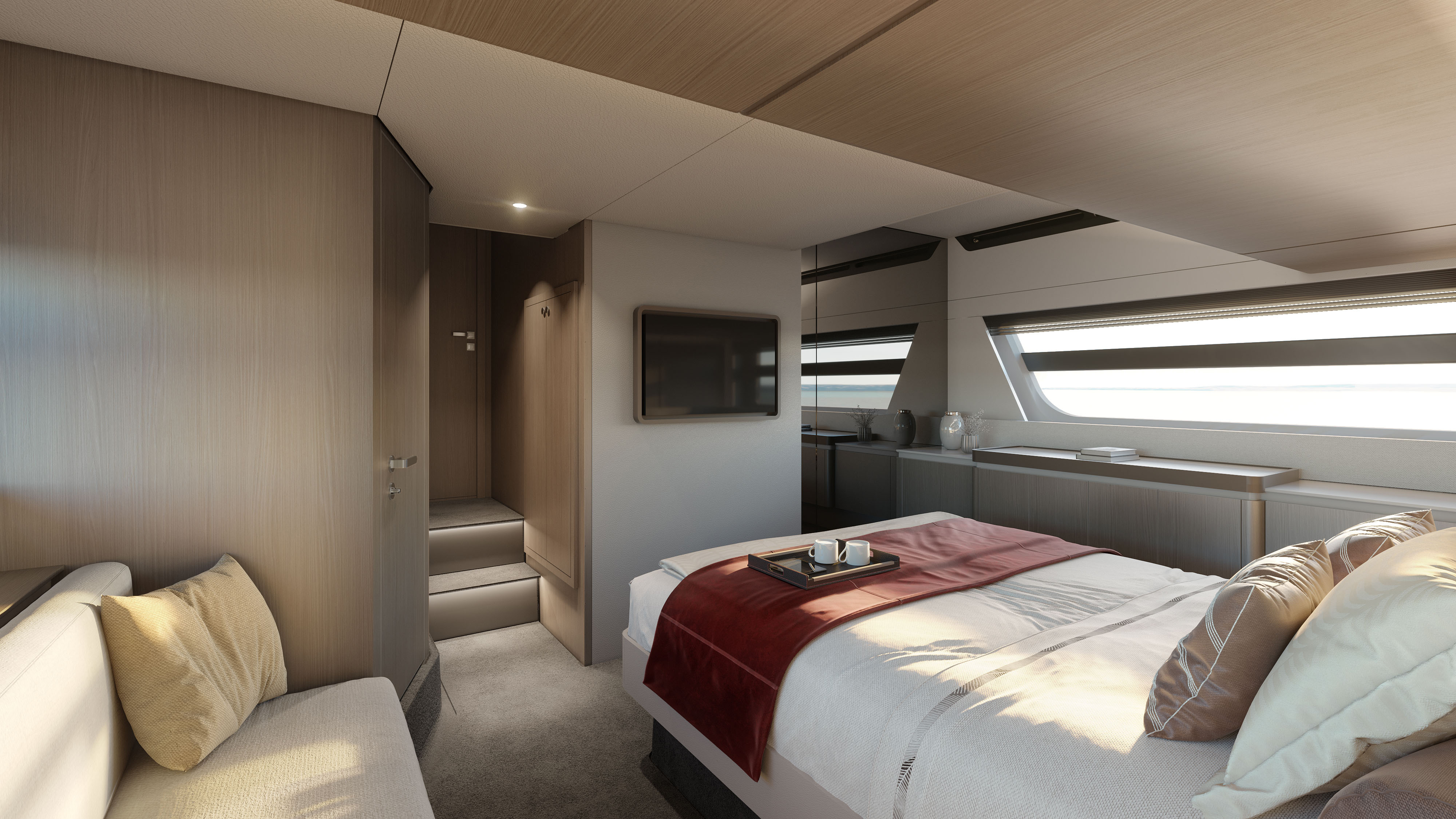 Spacious And Smart Azimut 53 Yacht Harbour
