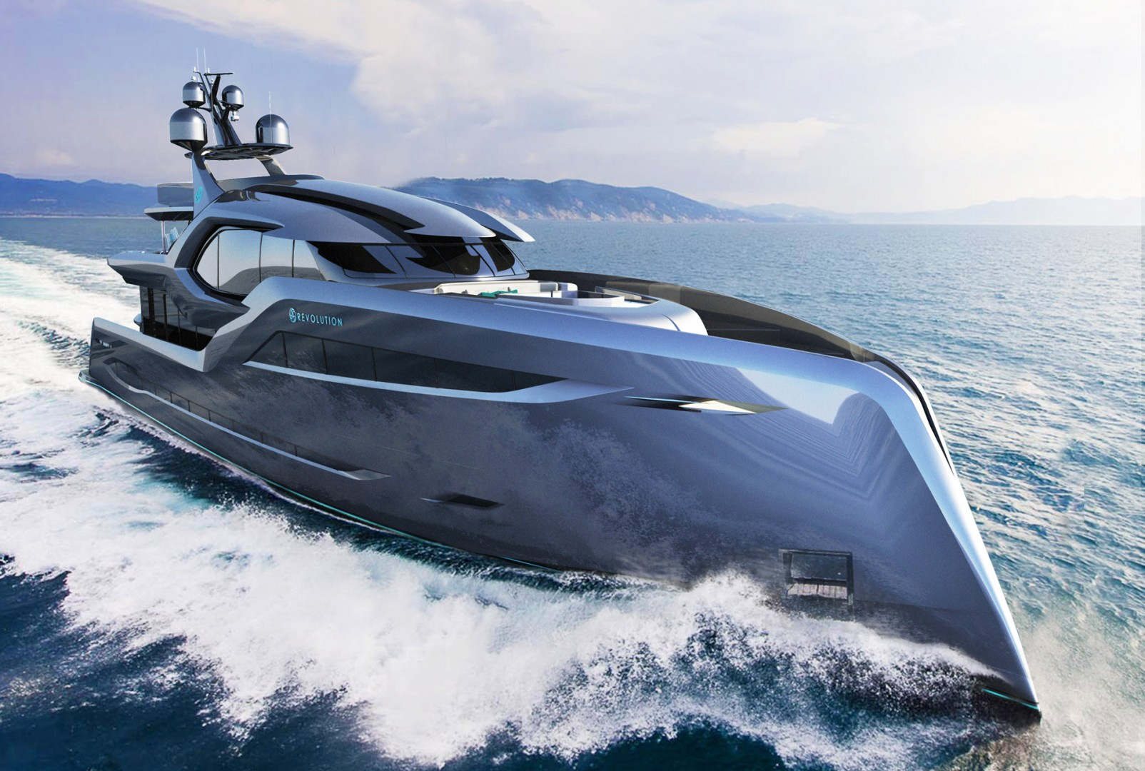 Six Superyacht Concepts Introduced By Andy Waugh