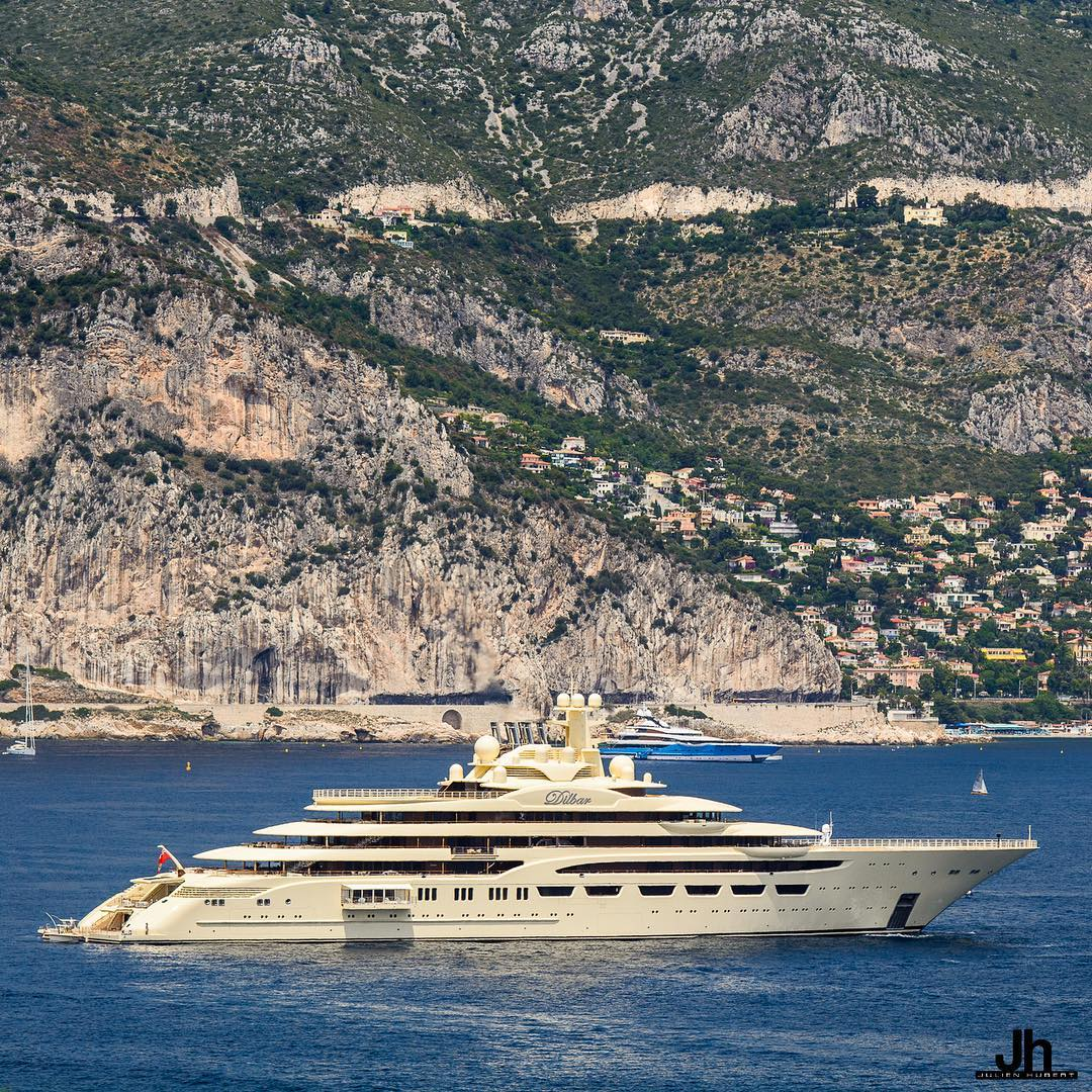 Dilbar Officially Becomes Largest Yacht By Gross Tonnage Yacht Harbour