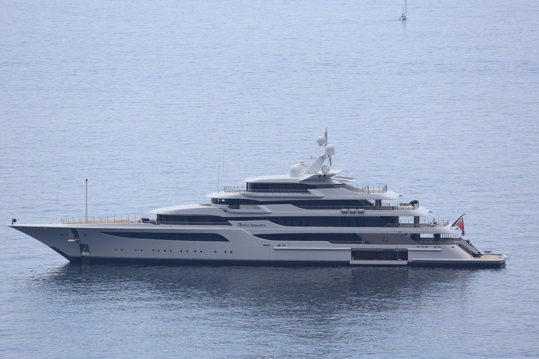17 yachts seen in monaco in the past few days