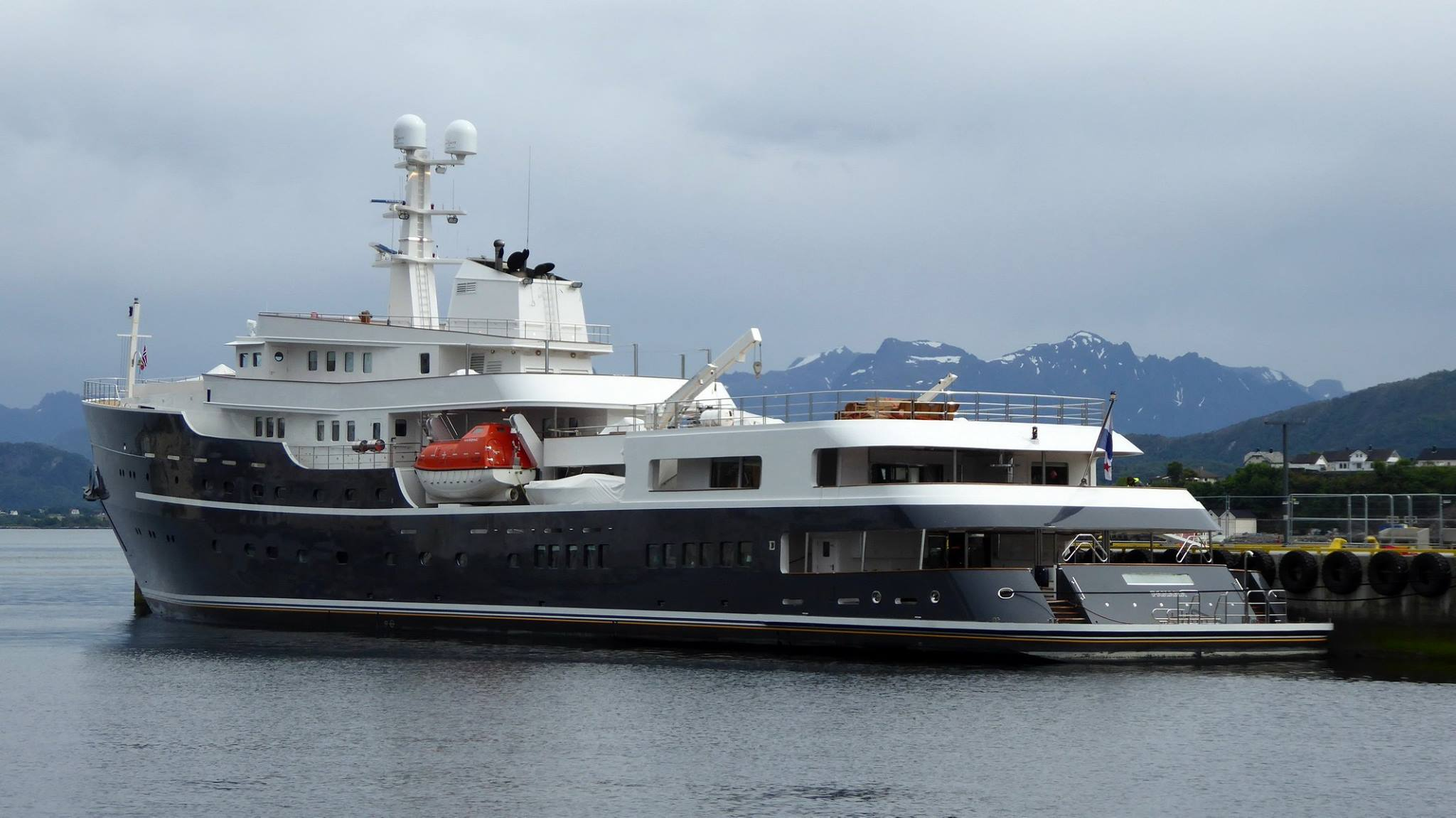Icebreaking Explorer Yacht Legend Spotted In Norway