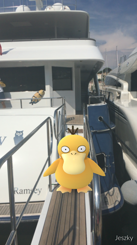Pokemon Go has made its way onto yachts - Yacht Harbour