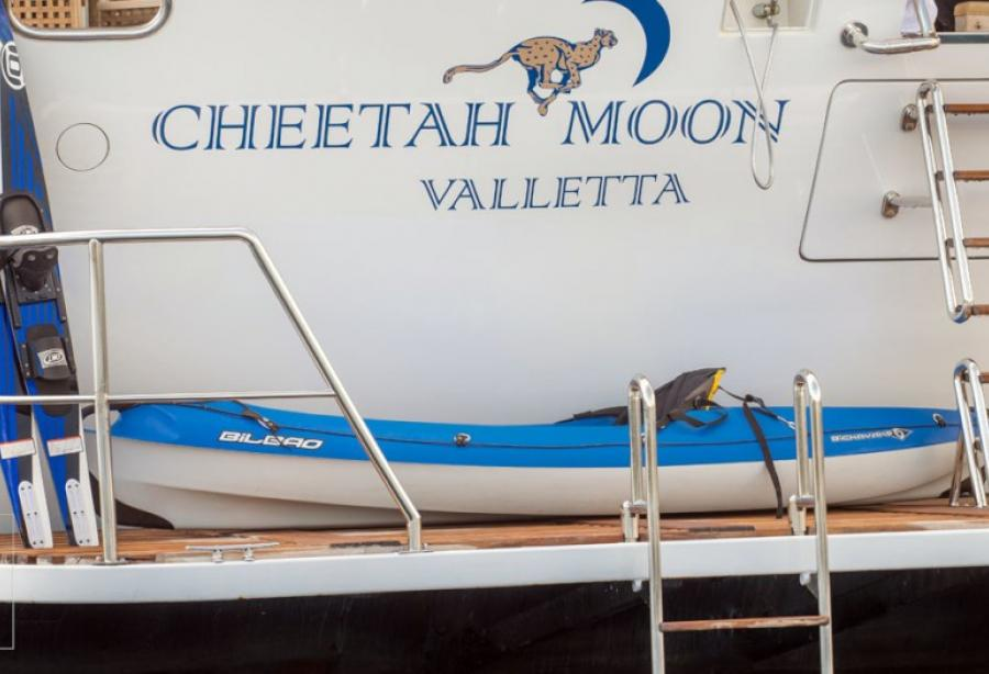 yacht Cheetah Moon