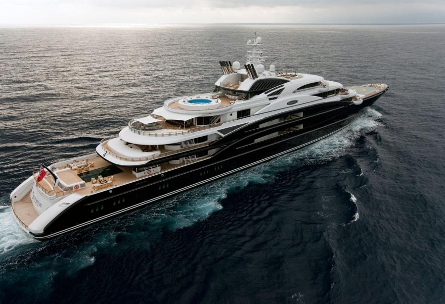 The 133m Serene Sold For 350 Million Yacht Harbour