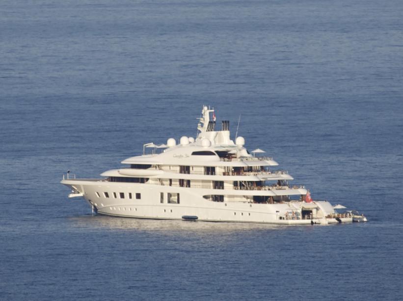 фото яхты галицкого