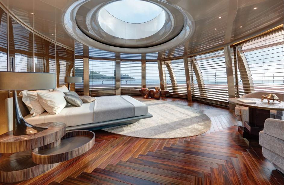 Motor yacht savannah feadship yacht harbour for Yacht de luxe interieur
