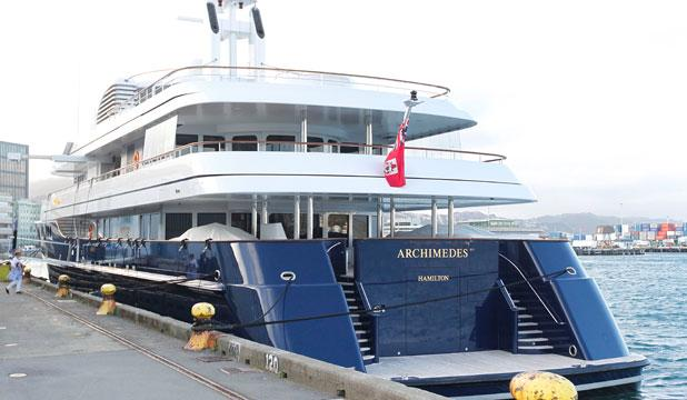 yacht Archimedes