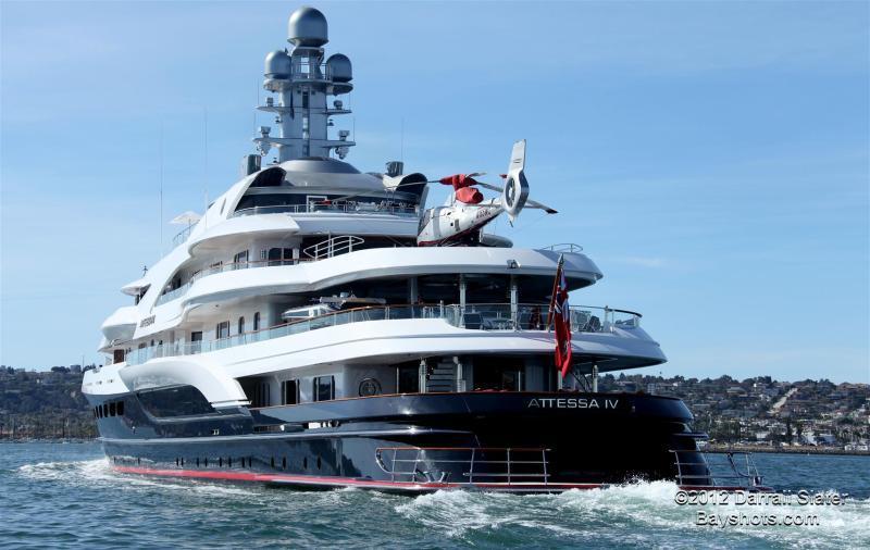 motor yacht attessa iv - evergreen shipyard